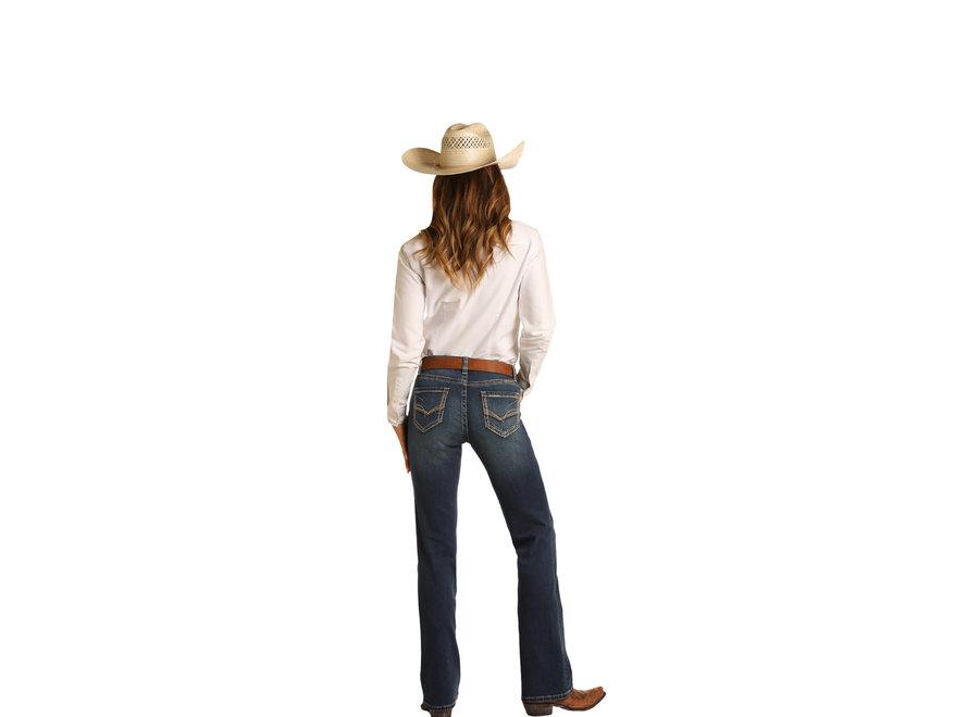 W7-9779- Riding Jean BootCut