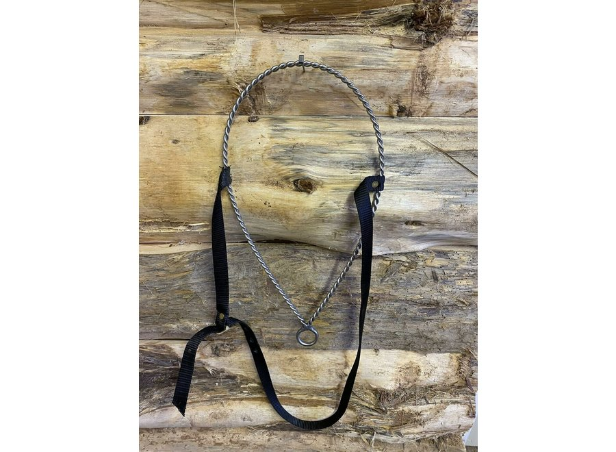 203- Solid Twisted Wire Noseband