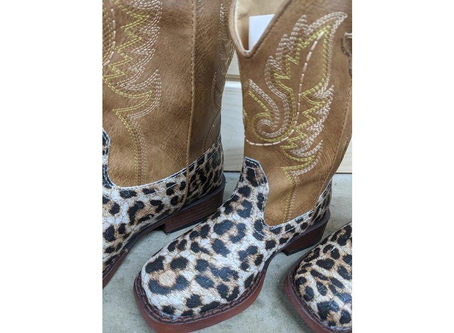 09-018-1901-2800 Glitter Leopard-Tan