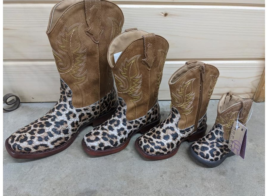 09-016-1901-2800 Glitter Leopard-Tan