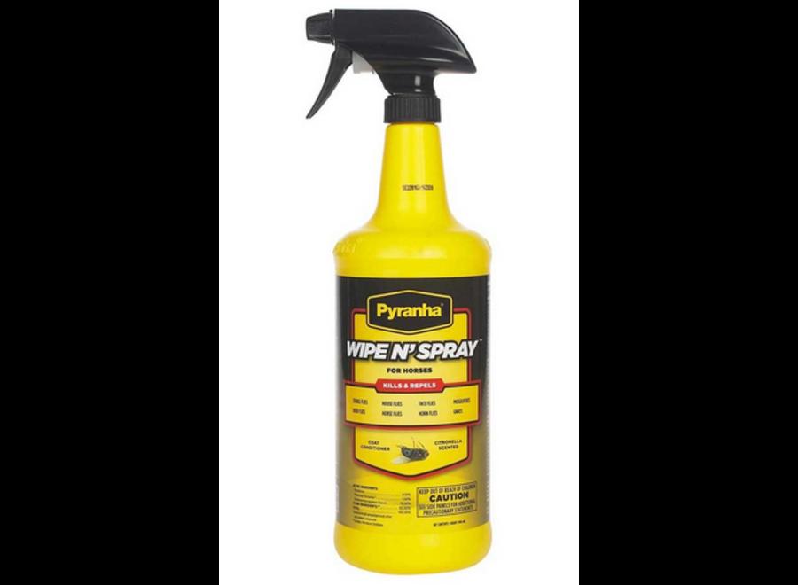 12729 Wipe N Spray Fly Spray 32 OZ