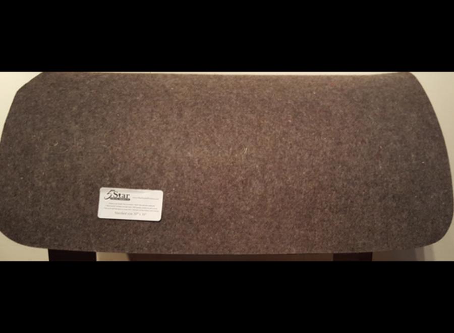 """1/4"""" 30X28"""" Thick felt pad liner Barrel"""
