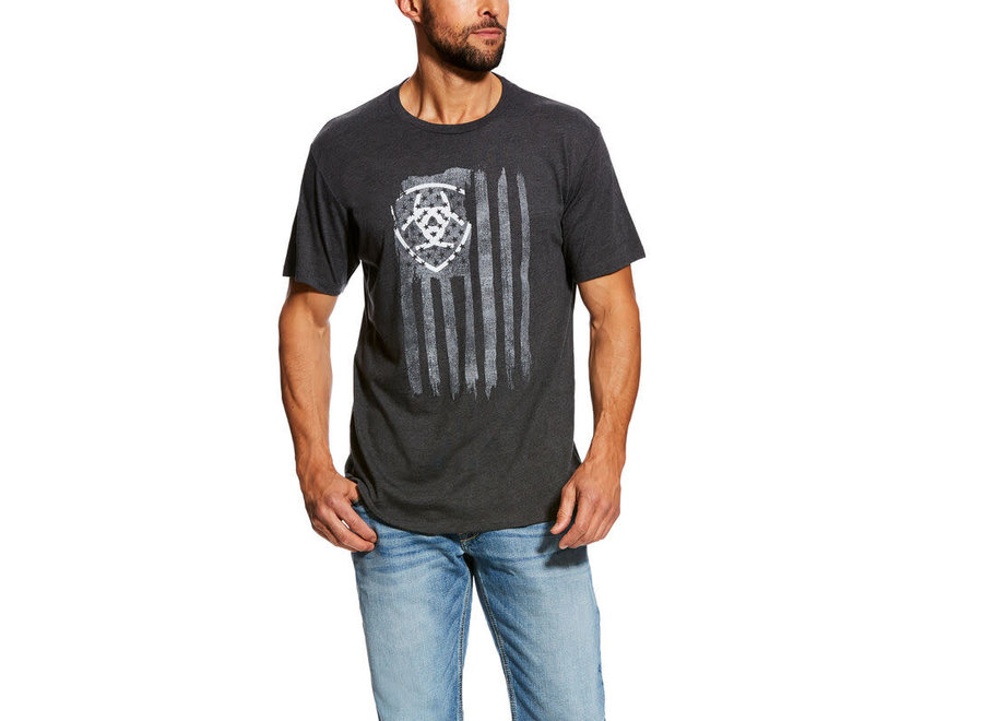 10026658 Vertical Flag Charcoal Heather
