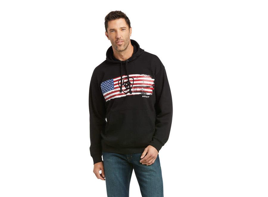 10037257- BlackSeam American Flag