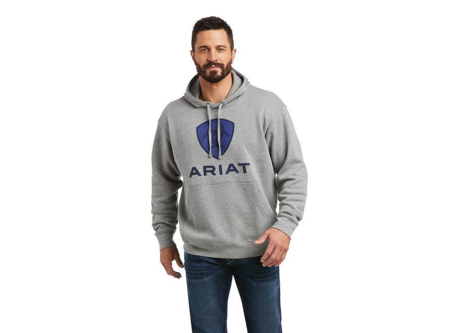 10037265- Raised Cobalt Sheild Ariat Logo