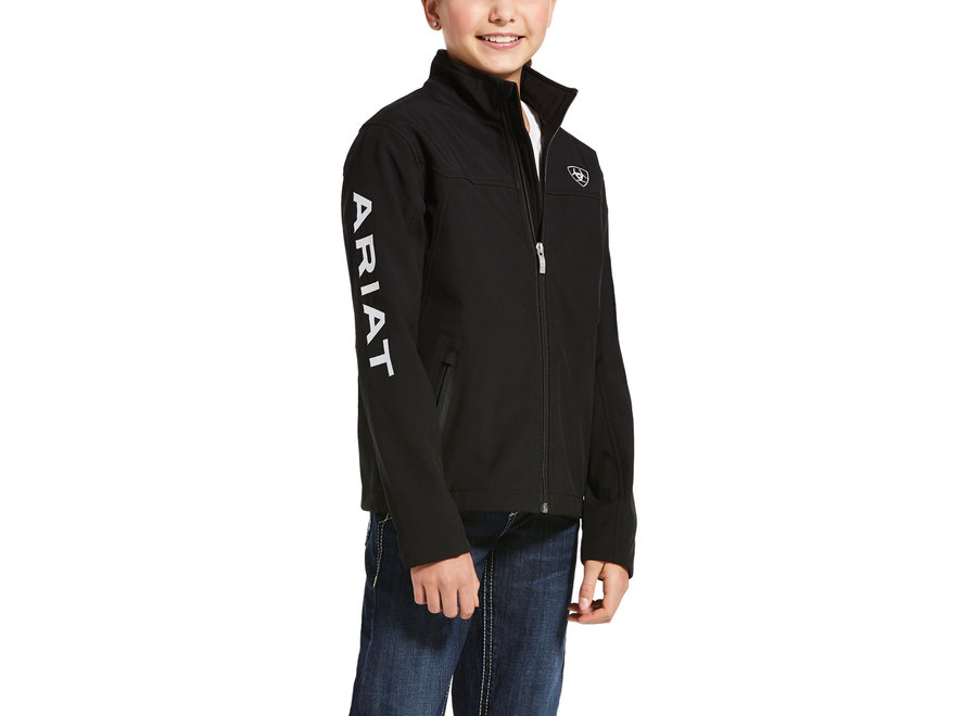 10028657 Black SoftShell Jacket