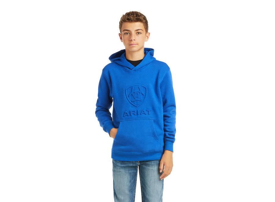 10037003 Colbalt Emboss Arait Sweatshirt