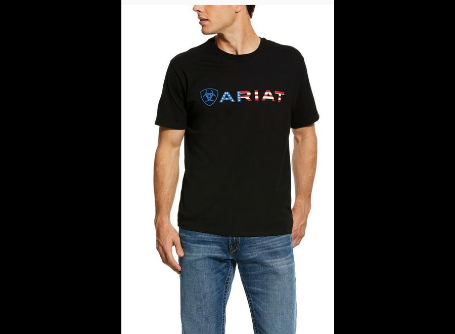 10031731 USA WordMark Teeshirt