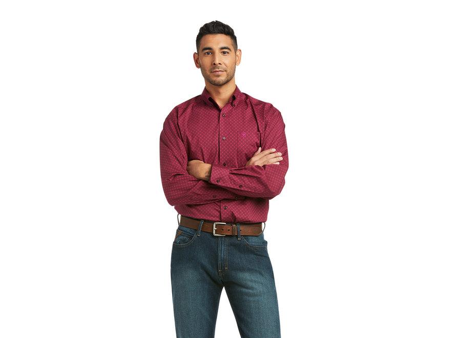 10036915 Koby Pomegranate LS western shirt