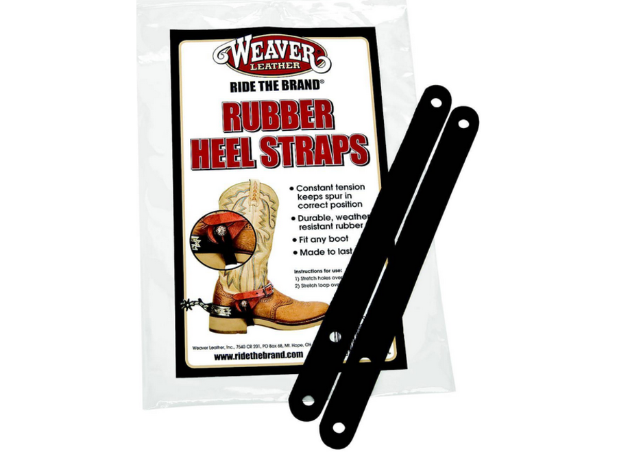 30-0790 Heel Straps W/rubber