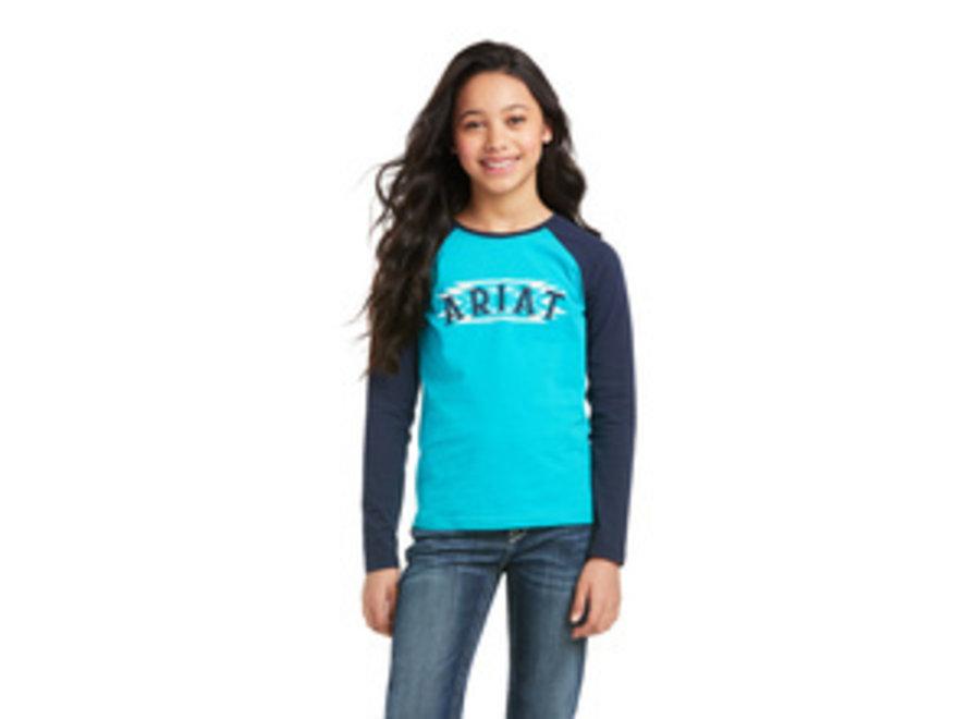 10037345 GIRLS AZTEC SHIRT