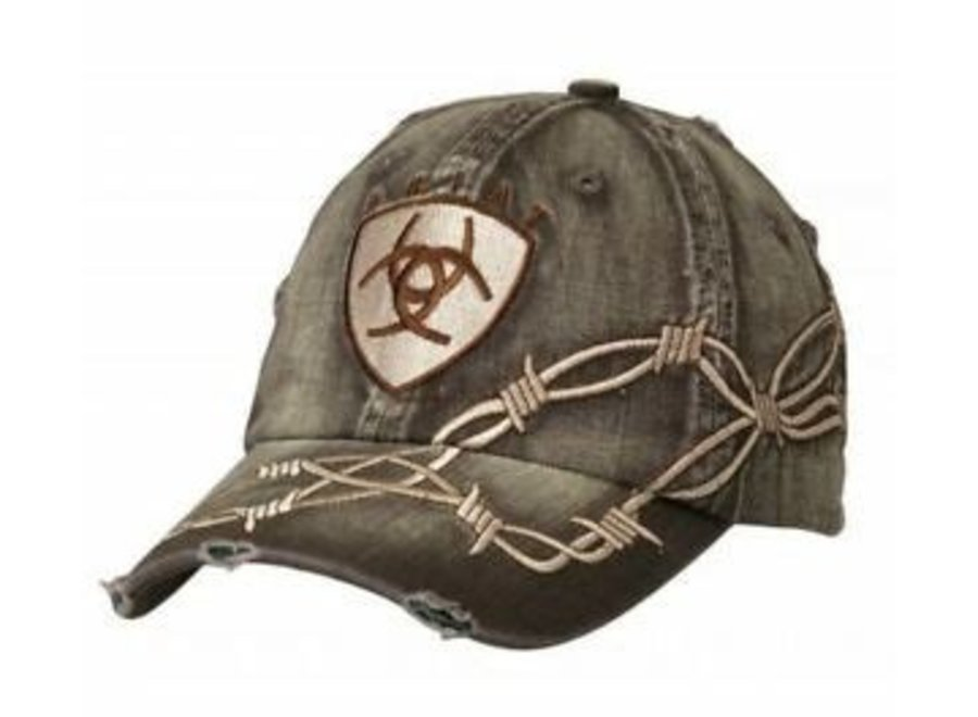 1509802 ARIAT MENS VPATCH BARBWIRE