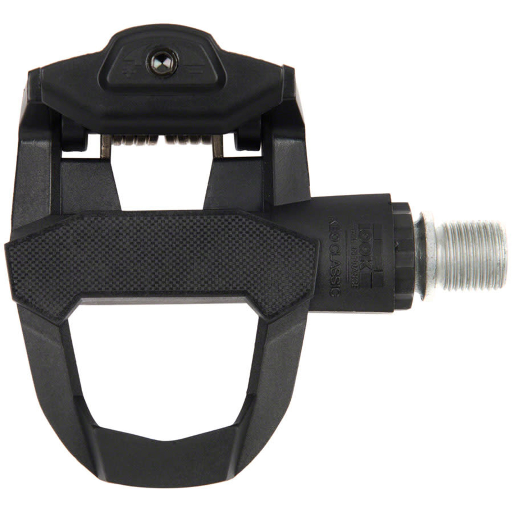 """Look LOOK KEO CLASSIC 3 Pedals - Single Sided Clipless, Chromoly, 9/16"""", Black"""