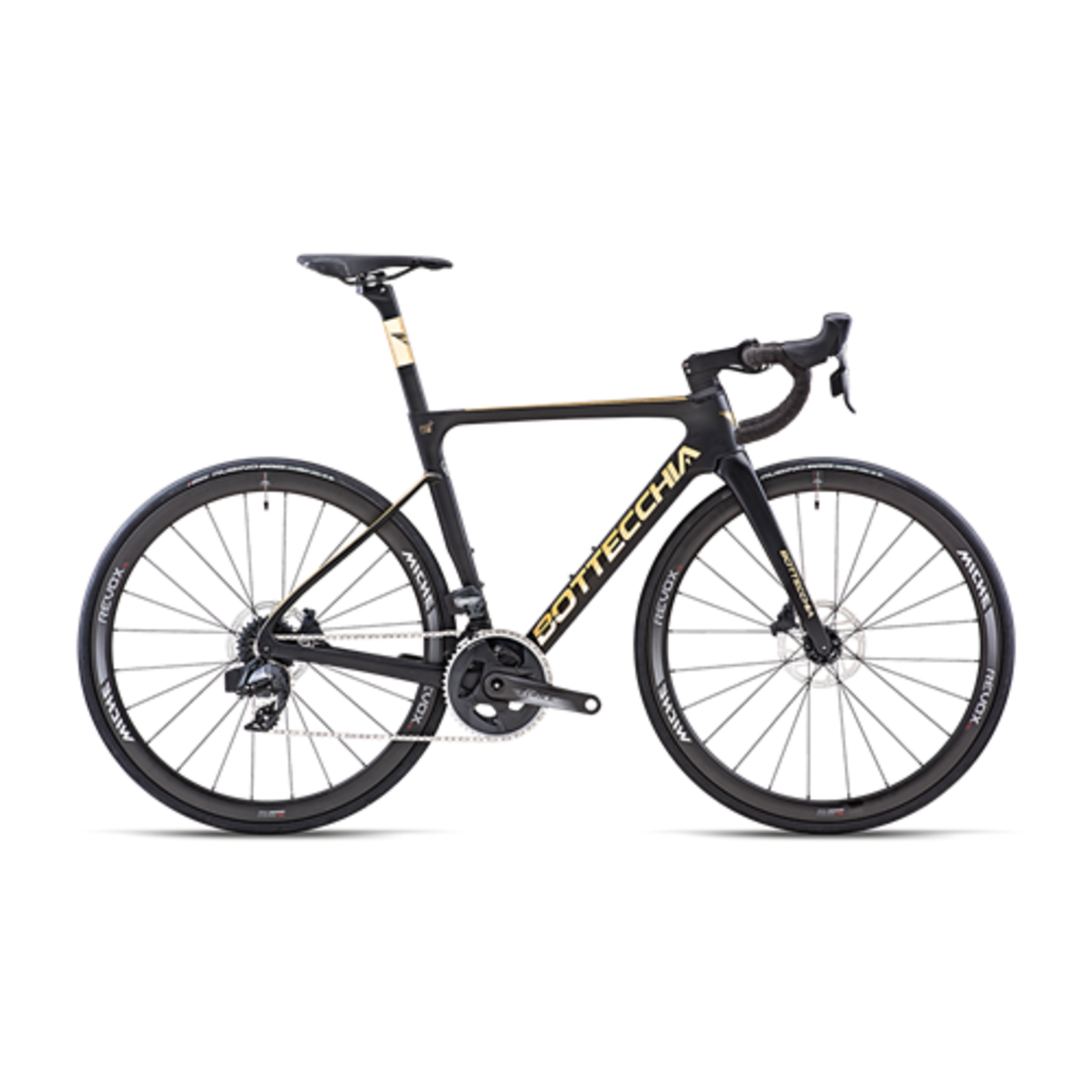 Bottecchia Bottecchia Aerospace black gold LTD edition 53 cm frameset