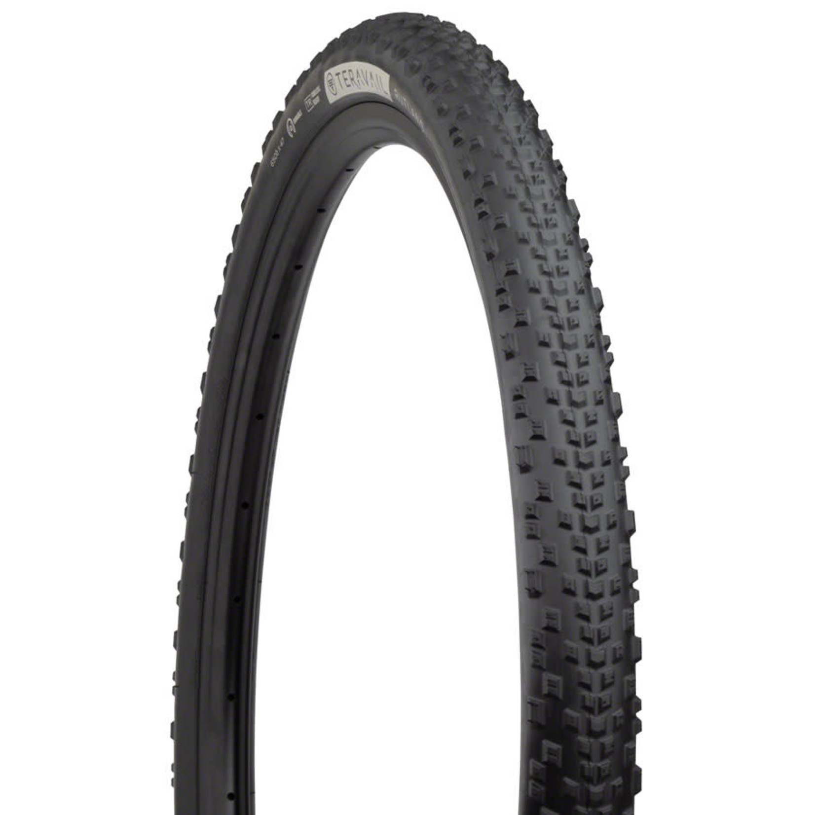 Teravail Teravail Rutland Tire - 650b x 47, Tubeless, Folding, Black, Durable