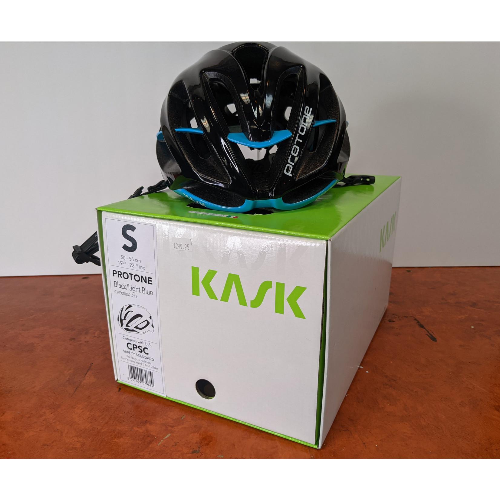 Kask Kask Team Protone light blue black S
