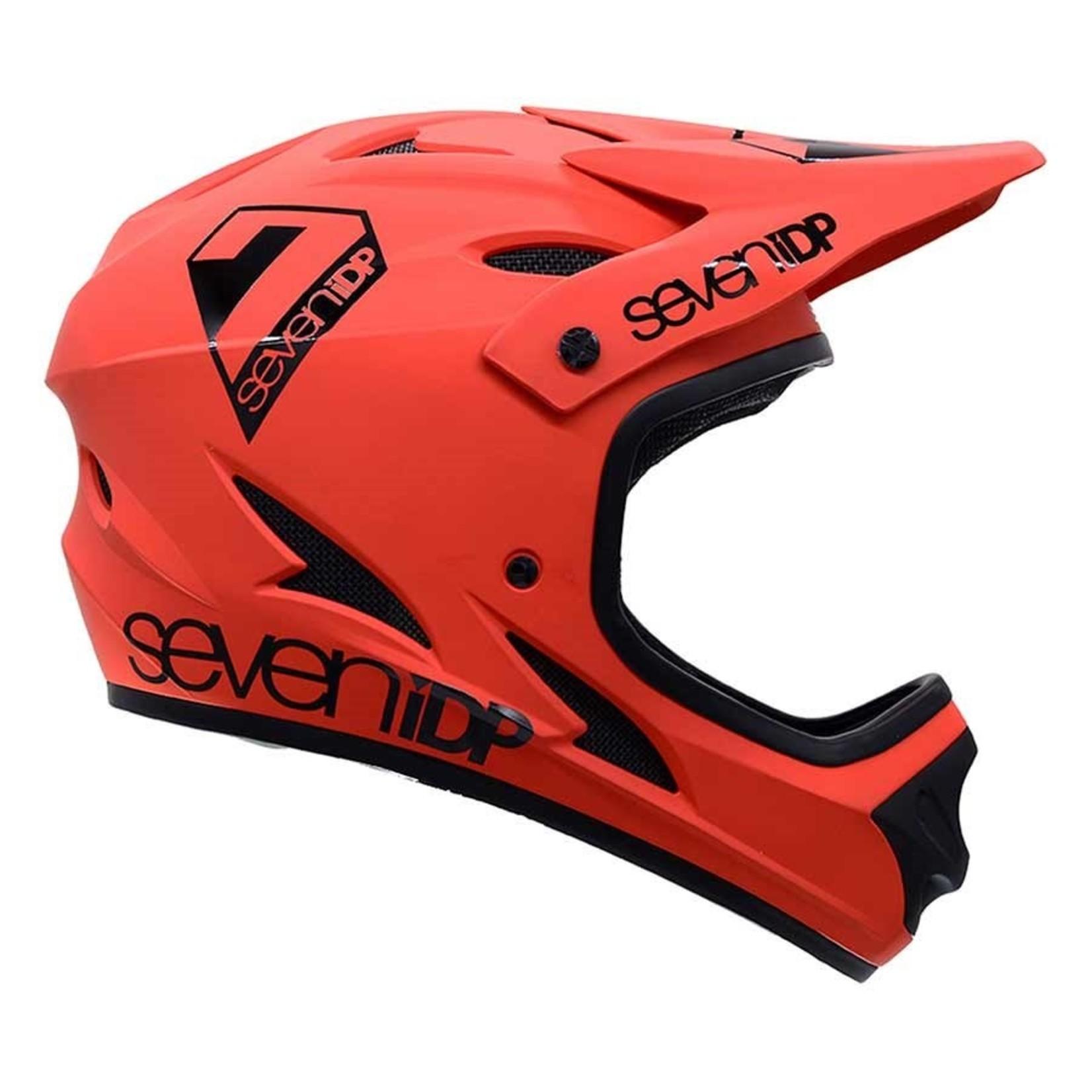 7iDP 7iDP, M1, Full Face Helmet, Matt Thruster Red/Black, L, 59 - 60cm