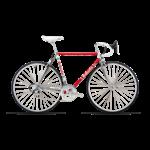 Bottecchia Bottecchia LEGGENDARIA 55 cm Red White frameset