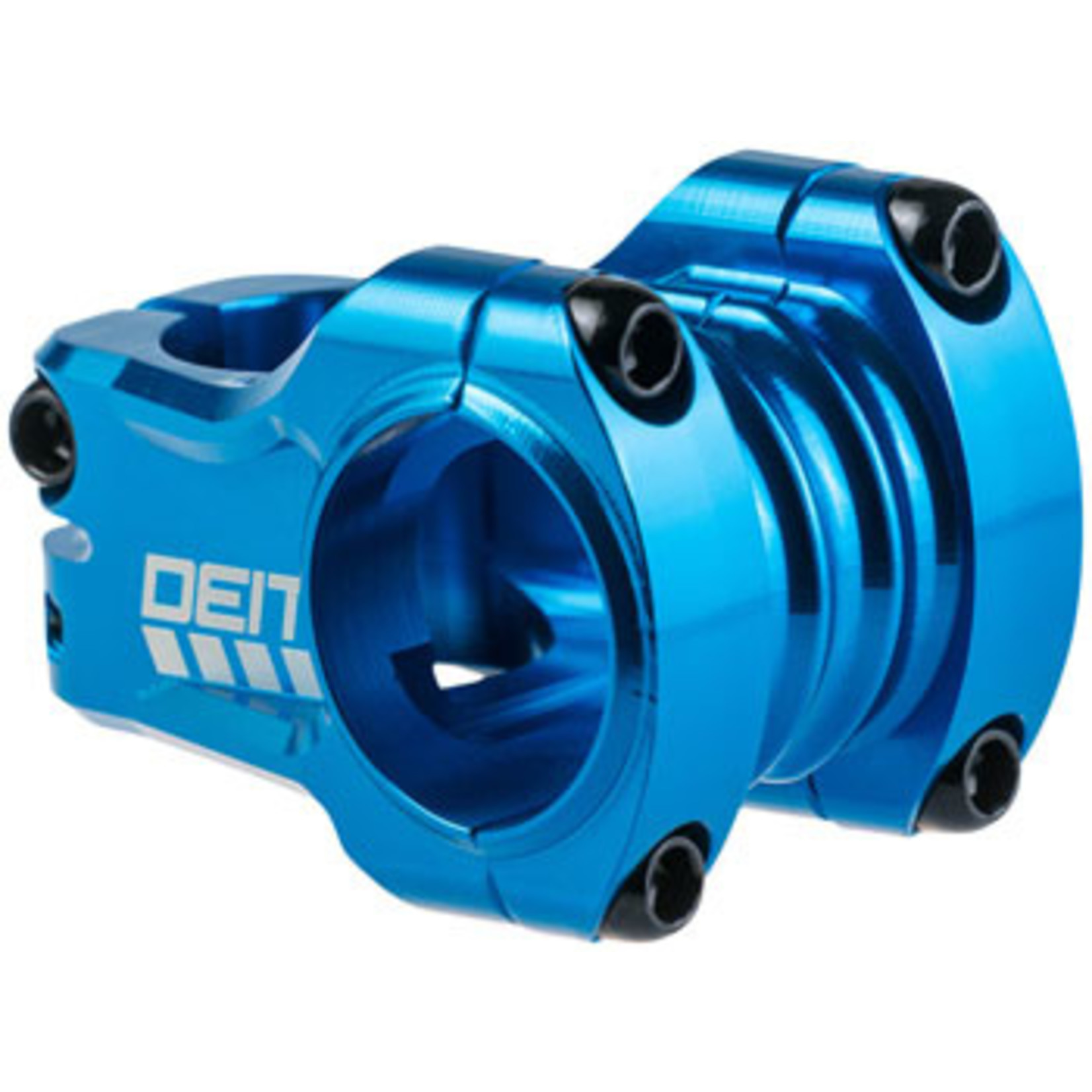 """Deity Components Deity Components Copperhead Stem - 35mm, 31.8 Clamp, +/-0, 1 1/8"""", Aluminum, Blue"""