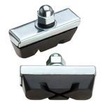 Jagwire Jagwire Basics X-Caliper Brake Pads Threaded Black Card  --cost per pad