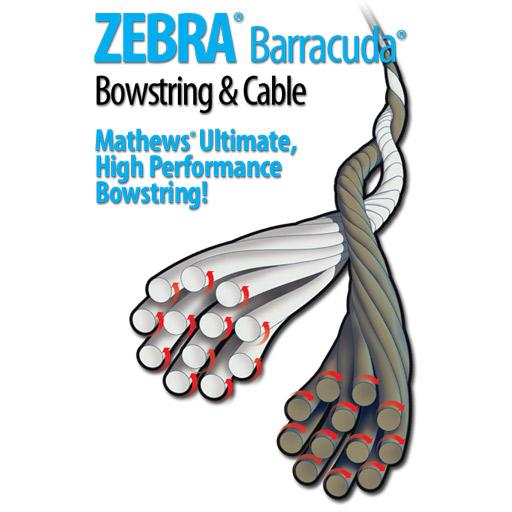 """Barracuda Barracuda Bow String  86 1/4"""" DXT"""