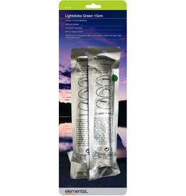 elemental Lightsticks Green 15cm  2Pack