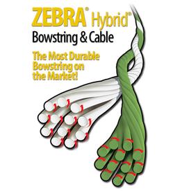 "Barracuda Zebra Bow String 57 1/4"" Maniac"
