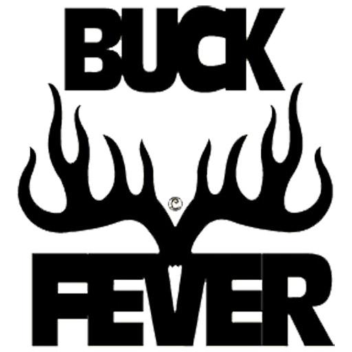 Buck Fever Decal 6x6