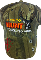 The Knife Kompany Born To Hunt Forced To Work Camo Cap