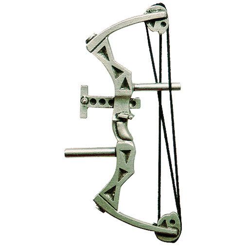 """Empire Pewter Empire Pewter """"Parallel Bow"""" Pin 1''"""