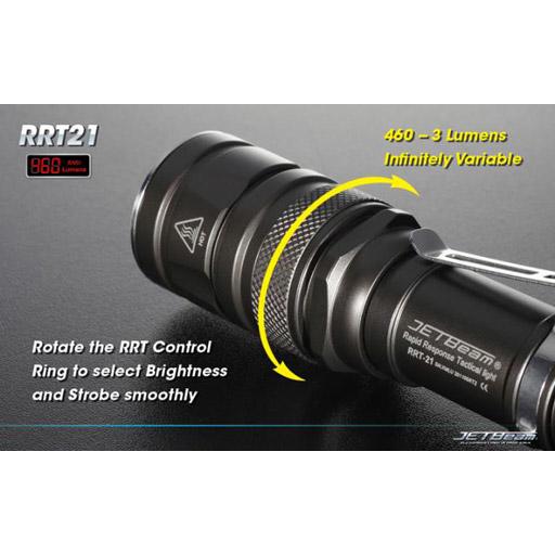 HiTech Illumination HiTech Jetbeam RRT-21 Flashlight