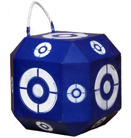 Southern Cross Targets SCT 18 Sided Broadhead Target Blue/White