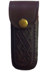 """The Knife Kompany Verticle Printed Pocket Knife Pouch Push Stud 4"""""""