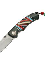 Piper Imports Spirit Indian Artwork  Folder Knife