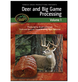 2 Blade Deer and Big Game Processing Vol 1. DVD