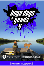 AFN Hogs Dogs & Quads 4 DVD