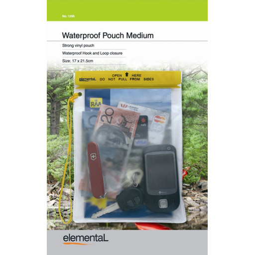 elemental Waterproof Pouch Medium 17cm X 21.5cm
