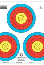 Nice Target Nice Target 40cm Three Spot Color (Each)