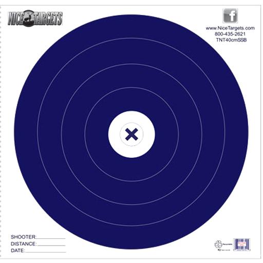 Nice Target Nice Target 40cm Single Spot Blue (Each)