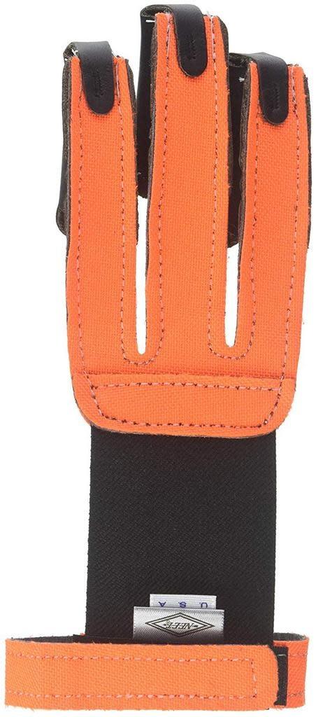 Neet Neet 3 Finger Shooting Glove Neon Orange LGE