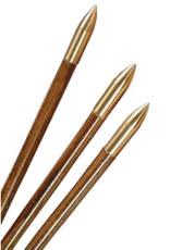 3Rivers Bullet Nose Brass Glue On 11/32 125gr. (Each)