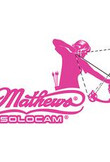 DWD DWD Mathews Decal Women's Archery Pink 10x5 in.