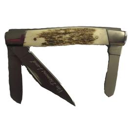 Performance Outdoors Van Diemens Stockman 3 Blade Stag Handle Folding Knife