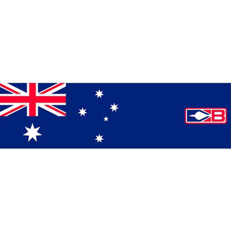 "Bohning Bohning Arrow Wraps 4"" Australia Flag 12Pack Small"