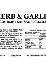 Butcher at Home Gourmet Sausage Meal Herb & Garlic GSM 1.25kg