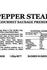 Butcher at Home Gourmet Sausage Meal Pepper Steak GSM 1.25kg