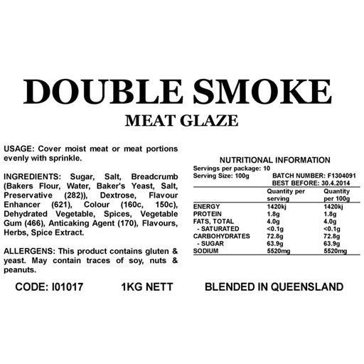 Butcher at Home Double Smoke Glaze 2kg