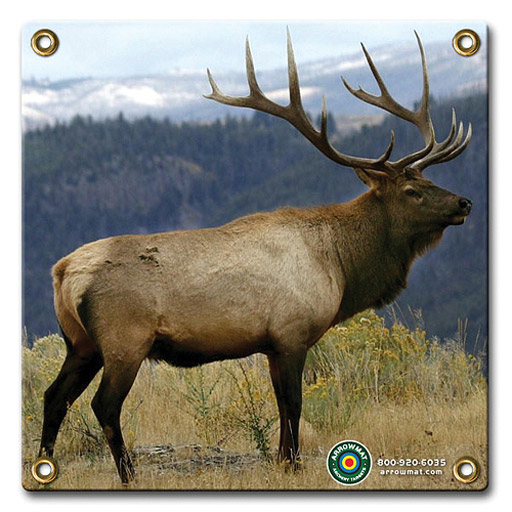 "Arrow Mat Target Face Elk 17""x17"""