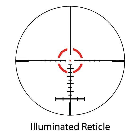 Arctic Fox Arctic Fox R Sreies 1-6x28 Precision Rifle Scope