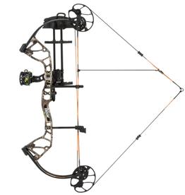 "Bear Archery Royale RTH in Realtree Edge from Bear Archery. RH/Camo/5 - 50lb, 12 - 27"" Draw Length"